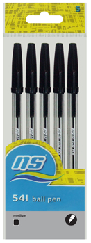 NS 541 BALL PEN 5's