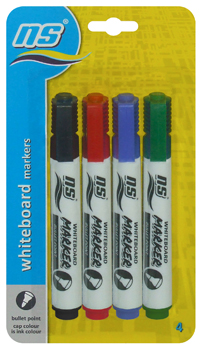 NS 412 WHITEBOARD MARKER 4's