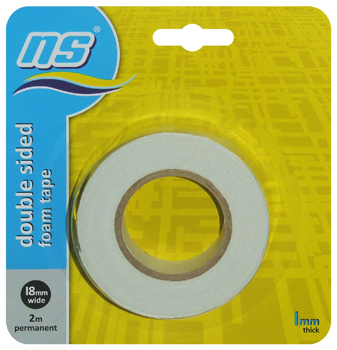 NS DOUBLE SIDED FOAM TAPE