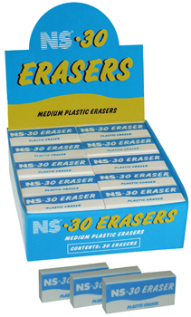 NS 30 WHITE ERASER