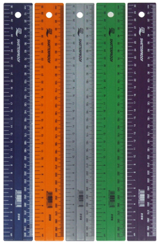 NS COLOUR RULER 300mm