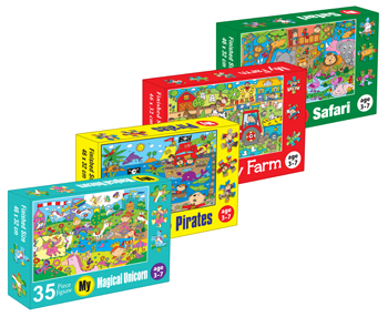 JIGSAW PUZZLE 35 PC