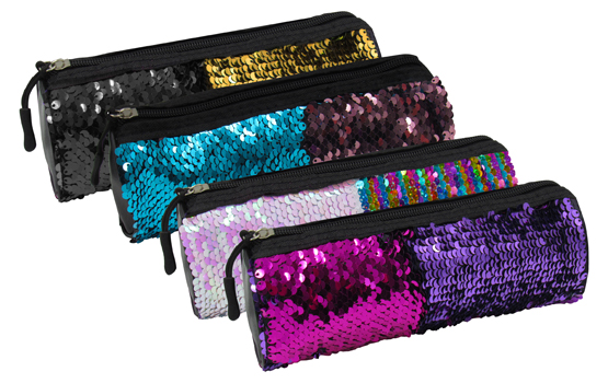 SCRIPTO SEQUIN PENCIL BAG