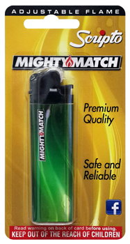 SCRIPTO MIGHTY MATCH LIGHTER