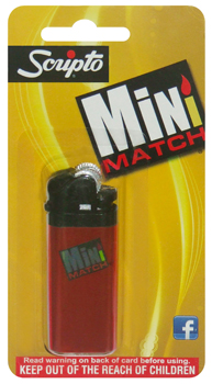 SCRIPTO MINI MATCH LIGHTER